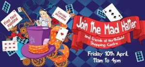 Cupcake decorating, a treasure hunt for prizes and face painting are all on offer on Friday April 10 from 11am to 4pm.
