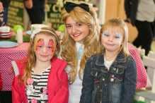 Chloe Middleton, Alice, Eloise Middleton,, seven, of Rednal.