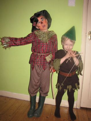 Scarecrow and Robin Hood from Wendy Collard