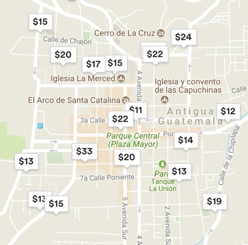 oferta airbnb centro de antigua