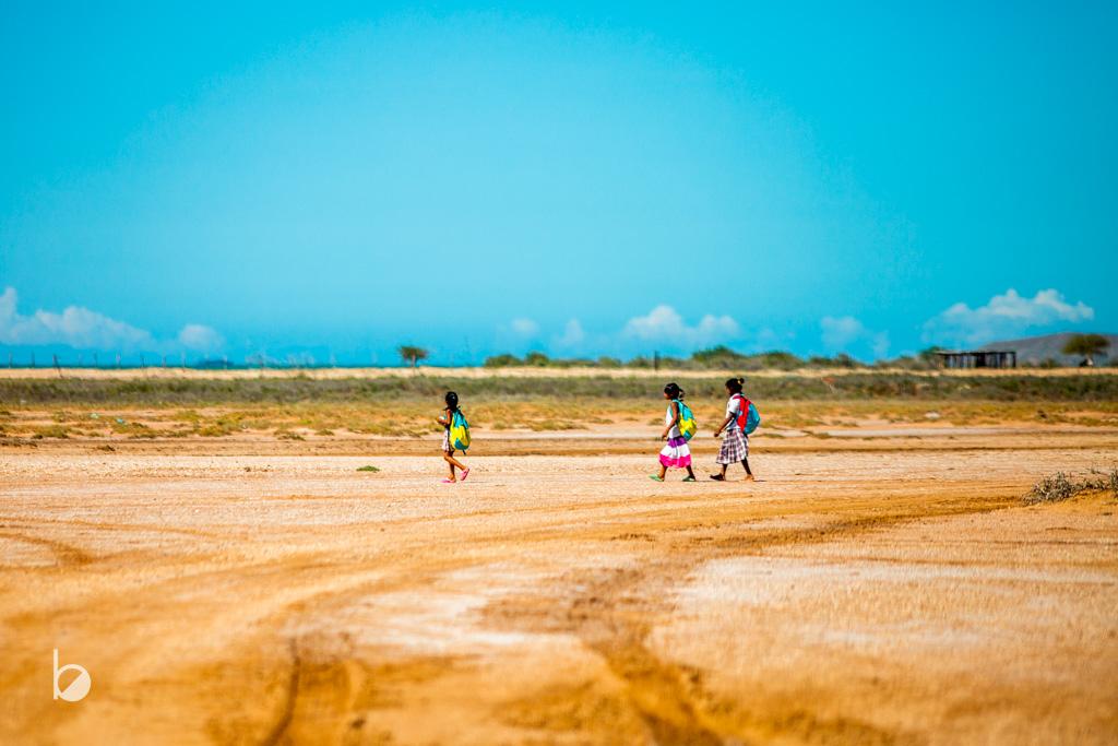 Cabo de la vela en La Guajira