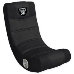 Oakland Raiders Chair Wheelchair Harness Bed Bath Beyond Nfl Gaming With Bluetooth Reg