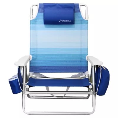 nautica beach chairs la z boy big tall bonded leather executive office chair 5 position bed bath beyond