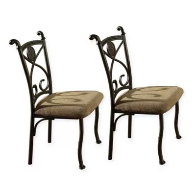 steve silver dining chairs bumbo chair cover co bed bath beyond brookfield set of 4
