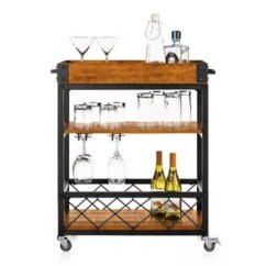 Cart For Kitchen Retro White Carts Bed Bath And Beyond Canada Inspire Q Seymour Rolling Serving
