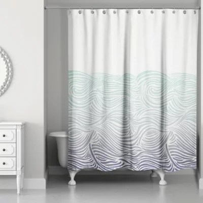 roll up shower curtain bed bath beyond