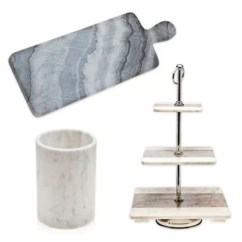 Marble Kitchen Accessories Repainting Cabinets Godinger Collection Bed Bath And Beyond
