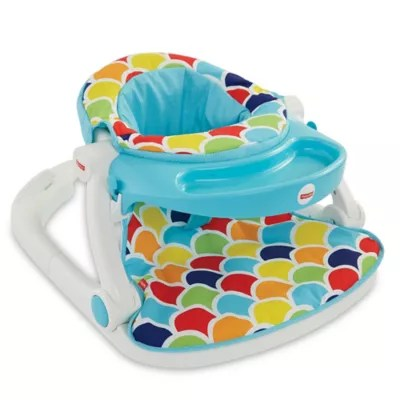 sit me up chair for babies discount desk chairs fisher price floor seat with toy tray buybuy baby view a larger version of this product image
