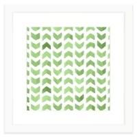 Buy Geometric Watercolor Wall Art in Green from Bed Bath ...