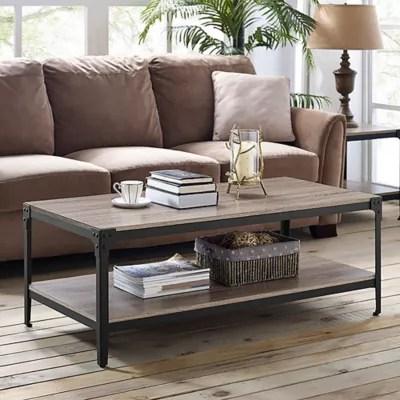 small living room coffee table unique designs for rooms tables bed bath and beyond canada forest gate wheatland industrial modern wood