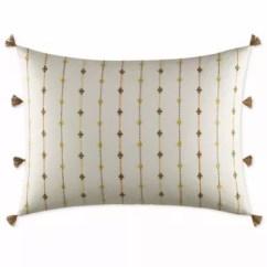 Sofa Accessories Names Sage Green Slipcovers Bedding Sets Bed Canopies Bath Beyond Ed Ellen Degeneres Toluca Tassel Oblong Throw Pillow In Natural