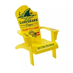Adirondack Style Dining Chairs Round Bar Table And Margaritaville Landshark Chair In Yellow Bed Bath Beyond