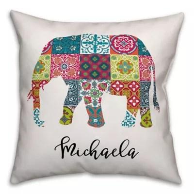 elephant throw pillows bed bath beyond