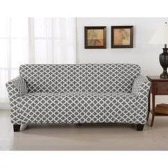 Sofa Covers Toronto Canada Macy Malaysia Furniture Bed Bath And Beyond Great Bay Home Brenna Strapless Slipcovers