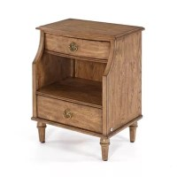 Buy Standing Room Only 2-Drawer Nightstand in Toffee from ...