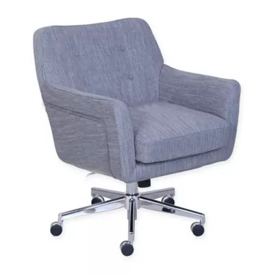desk chair bed bath and beyond breakfast table chairs serta ashland home office