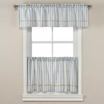 harbor knots window curtain panels and