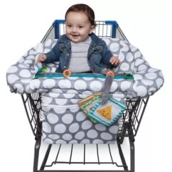 Baby Boppy Chair Recall Staples Turcotte Brown Buybuy Luxe Shopping Cart Cover In Jumbo Dots
