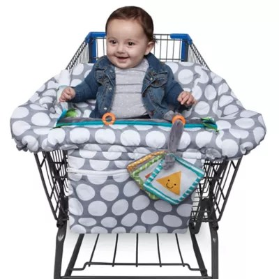 baby boppy chair recall black dining room chairs set of 4 buybuy luxe shopping cart cover in jumbo dots