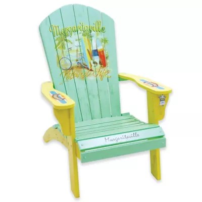 distressed adirondack chairs vintage cane chair margaritaville outdoor wood in blue yellow