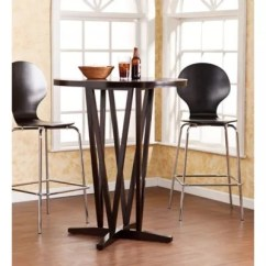 Small Pub Table And Chairs Chair Covers Rentals Tables Bistro Sets Bed Bath Beyond Southern Enterprises Devon Round Bar In Dark Espresso