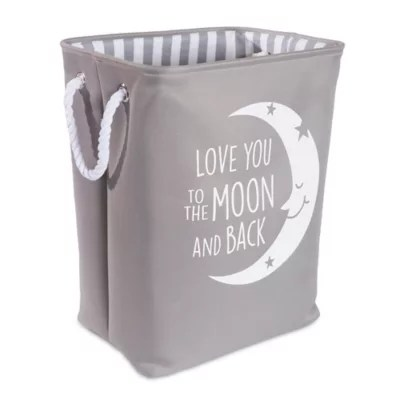 badger basket evolve high chair swing cover storage organizers bookcases baskets cubes and more taylor madison designs love you to the moon hamper in