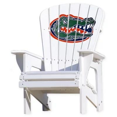 adirondack chairs at lowes desk chair mat walmart plastic bed bath beyond university of florida gators