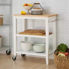 Kitchen Microwave Cart Country Style Sink Bed Bath Beyond Trinity Wood In White