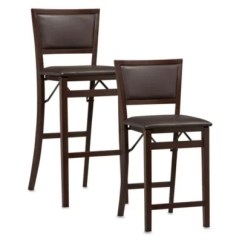 Folding Bar Stool Chairs Carter Brothers Scoop Chair 24 Stools Bed Bath Beyond Padded