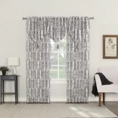 Window Curtains Living Room Best Colors For Small Rooms Bed Bath Beyond Roselia Back Tab Darkening Curtain Panels And Valance