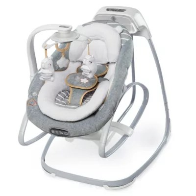 ingenuity high chair canada reviews office makeover buybuy baby boutique collection swing and rocker in bella teddy
