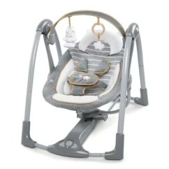 Swing Chair Baby Age White Round Dining Table And 4 Chairs Shop Infant Buybuy Ingenuity Boutique Collection N Go Portable
