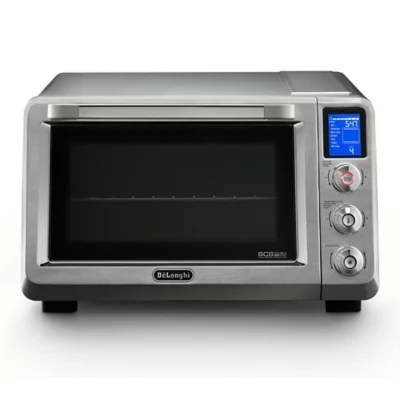 de longhi livenza convection toaster oven in stainless steel