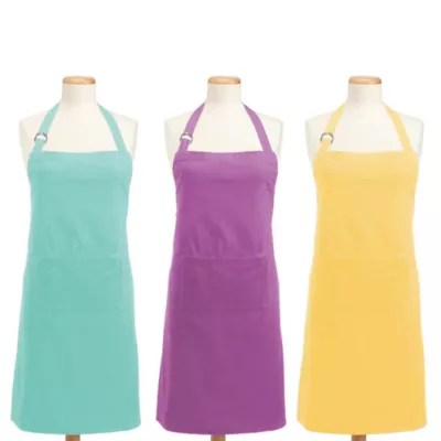 cute kitchen aprons mobile trailer for hostess bride groom bed bath beyond design imports chino chef apron