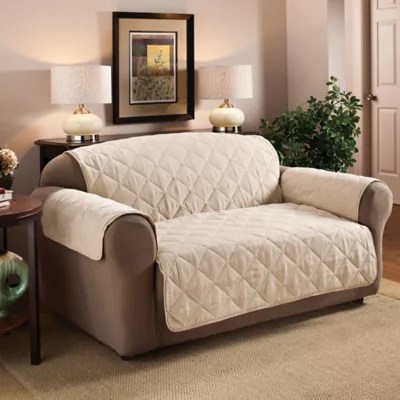 faux suede sofa cleaning instructions spectra home furniture protector collection bed bath beyond