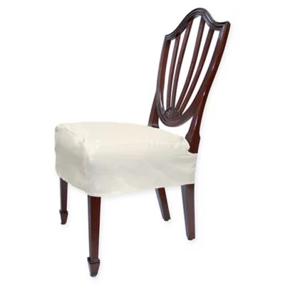 chair seat cover fabric low cost covers ltd set of 2 bed bath beyond