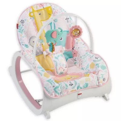 vibrating chair baby wood and leather infant seats floor rockers chairs buybuy fisher price to toddler rocker