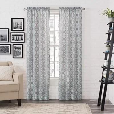 arlene rod pocket window curtain panel