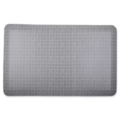 grey kitchen mat glass top tables therapedic 20 inch x 32 in bed bath beyond