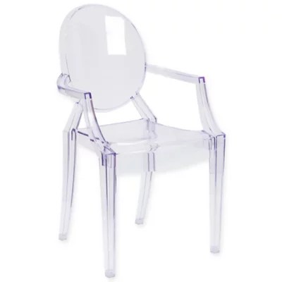 ghost chairs cheap cast iron table and perth bed bath beyond flash furniture arm chair in transparent crystal