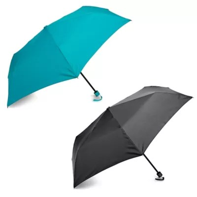 Samsonite® Manual Compact Round Umbrella | Bed Bath & Beyond