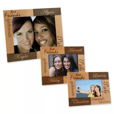 best friend picture frames