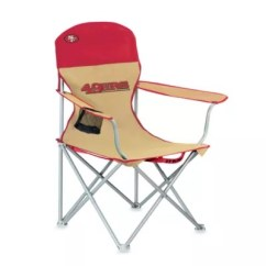49ers Camping Chair Hercules Folding Nfl San Francisco Beach Bed Bath Beyond