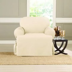 Sure Fit Chair Covers Bed Bath And Beyond Modern Sofa Heavyweight T Cover