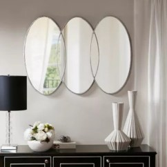 Large Decorative Mirrors For Living Room Rug Size With Sectional Wall Bed Bath Beyond Madison Park Signature Eclipse 30 Inch X 40 Mirror In Antique Silver