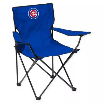 fold out lawn chair adirondack table and set folding chairs bed bath beyond mlb chicago cubs quad