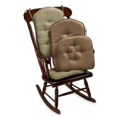 rocking chair pad set steel klear vu twillo 2 piece bed bath beyond