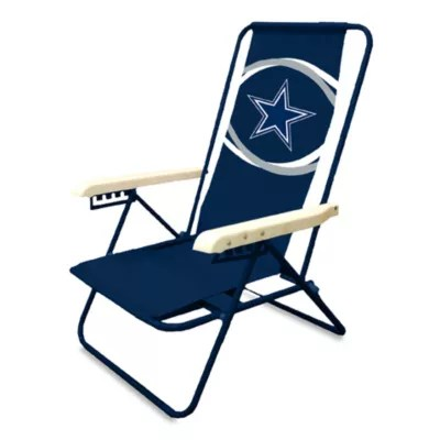 dallas cowboys folding chairs power wheelchair batteries medicare nfl beach chair bed bath beyond