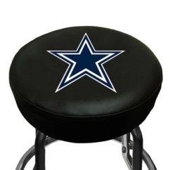 Dallas Cowboys Chair Cover Chairs For Restaurants Bed Bath Beyond Nfl Bar Stool