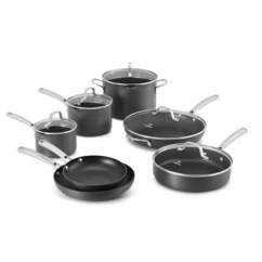 Kitchen Pots And Pans Countertop Types Cookware Store More Bed Bath Beyond Calphalon Classic Nonstick 12 Piece Set